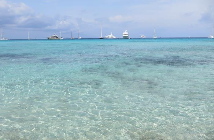 Idílicas aguas de Ses Illetes Playas de Formentera