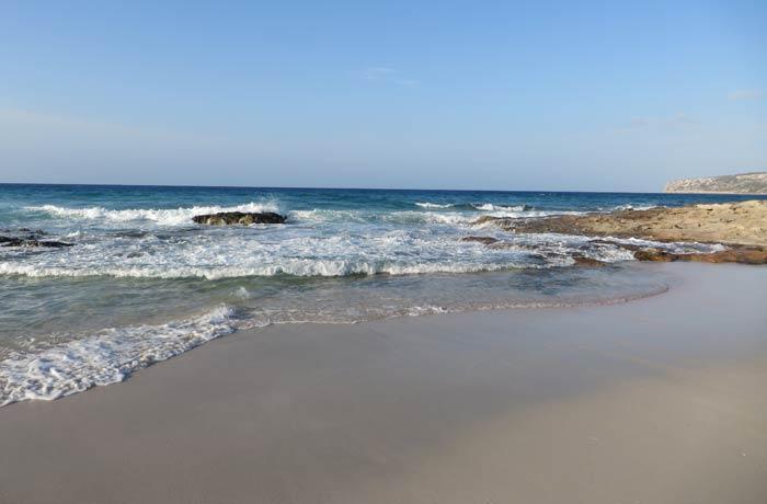 Ses Platjetes en Es Caló Playas de Formentera