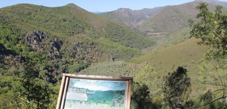 Senderismo en Salamanca Miradores de las Sierras