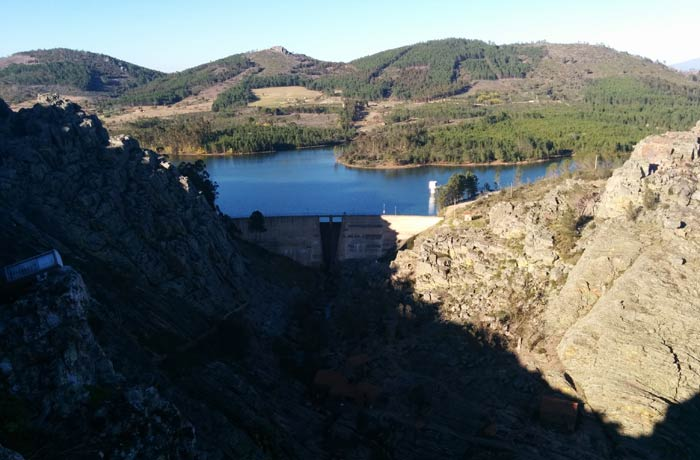 Valle de Ponsul y embalse Penha Garcia