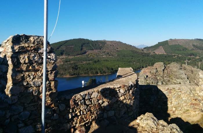 Vistas desde el castillo de Penha Garcia