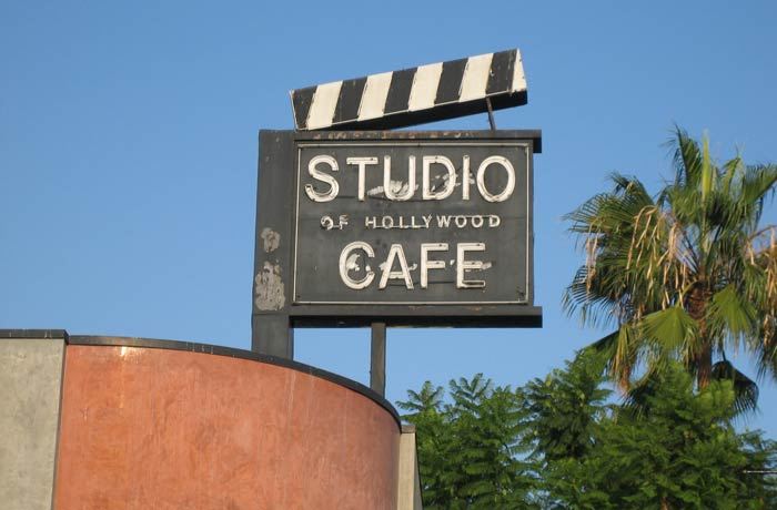 Studio Cafe Paseo de la Fama de Hollywood