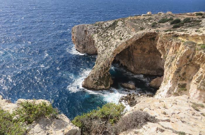 Blue Grotto Malta en cuatro días