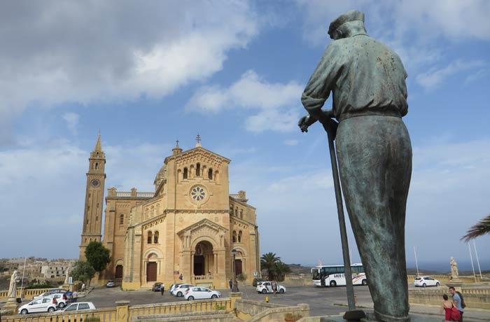 Santuario de Ta 'Pinu en Gozo Malta en cuatro días