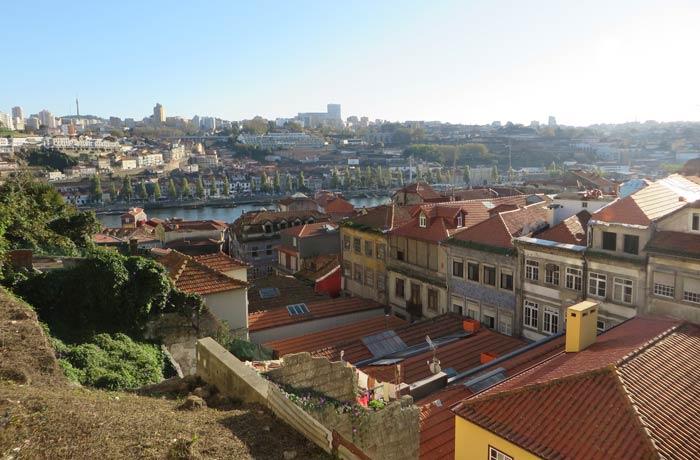 Panorámica desde el mirador de la rua de Sant'Ana