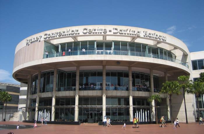 Centro de Convenciones y Exposiciones de Sídney en Darling Harbour