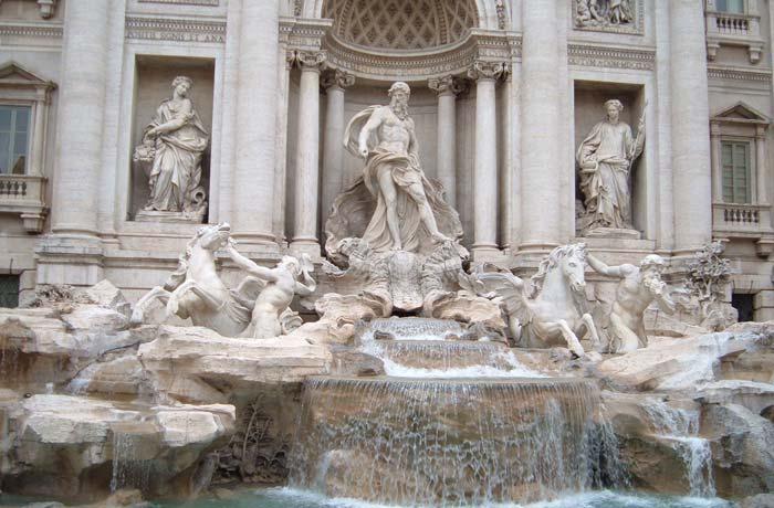Fontana de Trevi Roma en tres días