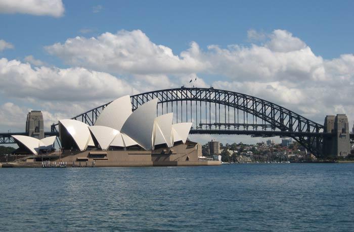 Ópera y Sydney Harbour Bridge