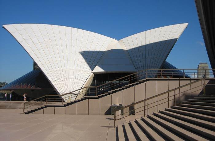 Detalle de la Ópera qué ver en Sídney