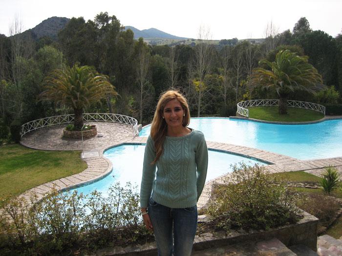 Piscina del hotel Fonte Santa Monfortinho termas