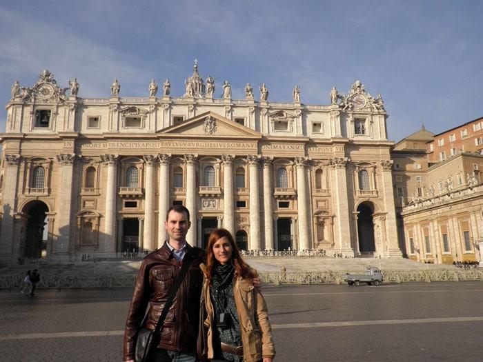 Basílica de San Pedro del Vaticano Roma en tres días