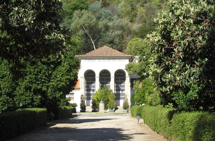 Edificio de Monfortinho termas