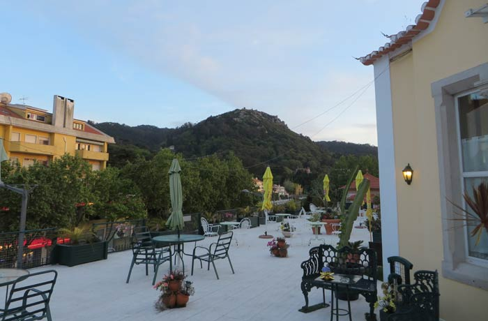 Terraza del hotel Nova Sintra
