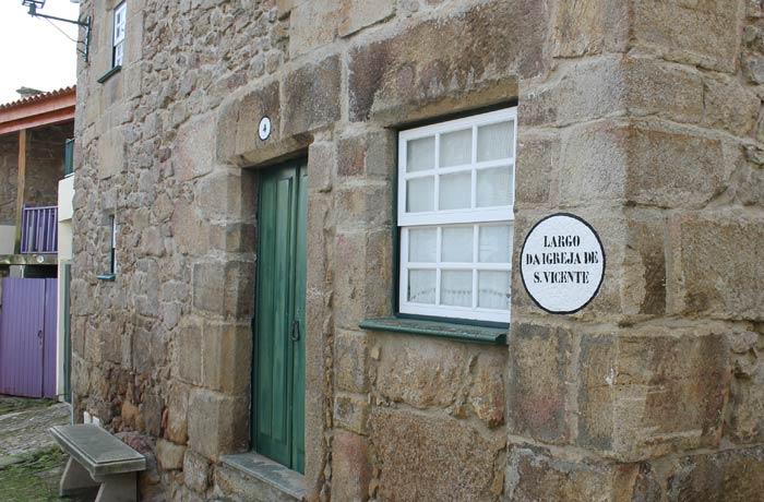 Una de las casas quinientistas de Castelo Mendo