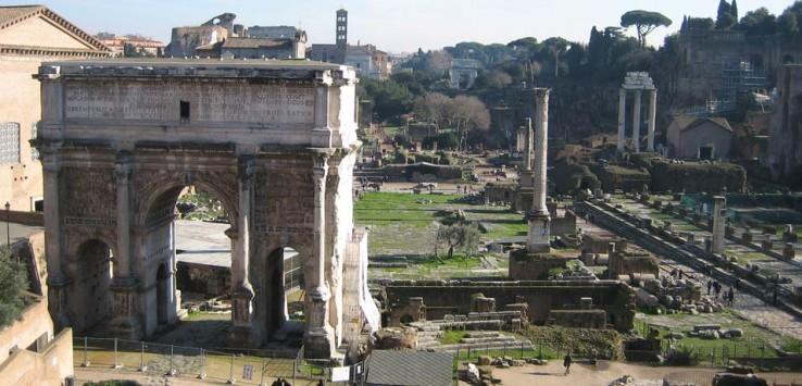 Coliseo y Foro Romano