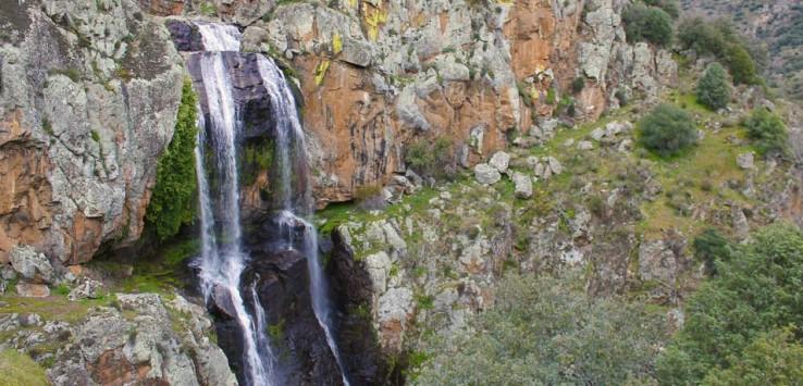 Cascadas en Portugal Faia da Água Alta