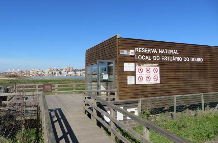 Centro de interpretación de la Reserva Natural del Estuario del Duero
