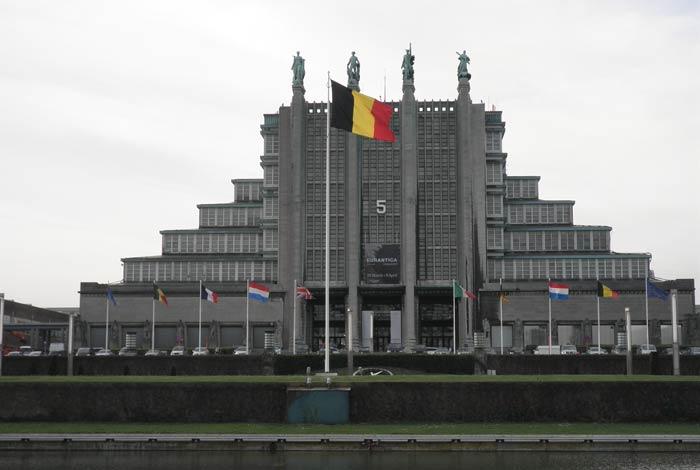 Palacio del Centenario Atomium de Bruselas