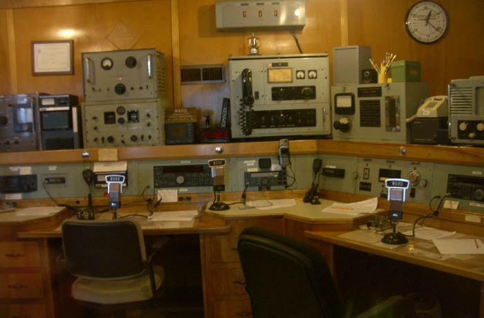 Sala de radio del Queen Mary