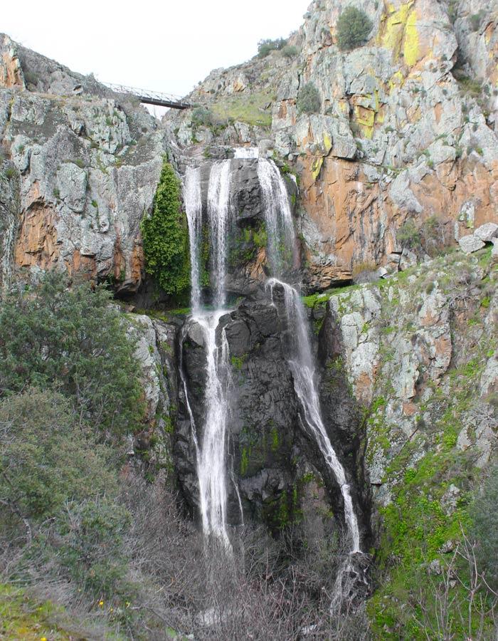 Otra vista de la Faia da Água Alta cascadas en Portugal