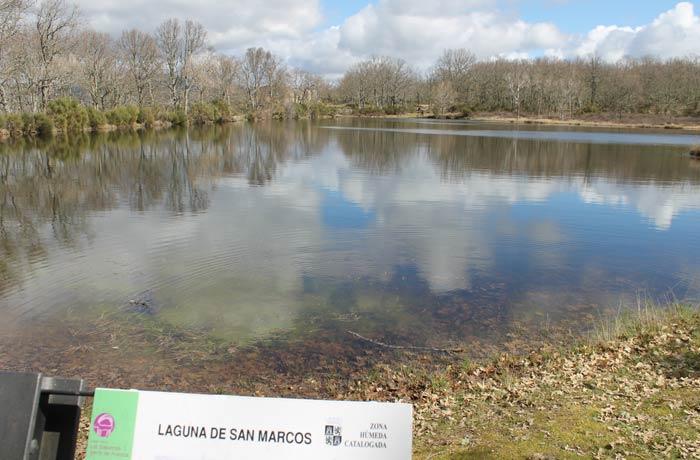 Otra vista de la Laguna de San Marcos Camino de las Raíces
