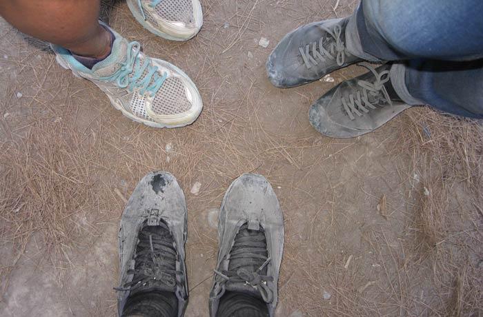 zapatillas Garganta de Samaria