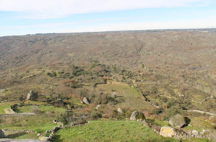 Vistas del valle del río Coa desde Castelo Bom