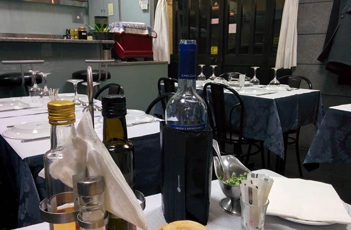 Interior del restaurante Kurika Restaurantes en Espinho