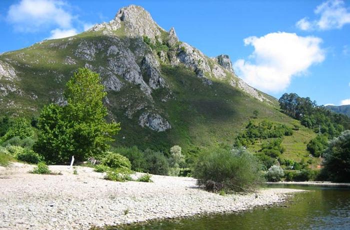 Espectacular paisaje que se contempla durante el descenso