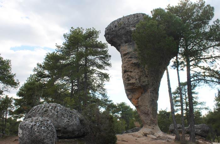 El Tormo Alto, símbolo de la Ciudad Encantada de Cuenca
