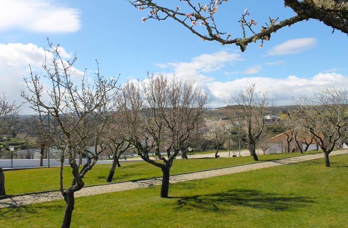 Jardín junto al Castillo qué ver en Miranda do Douro