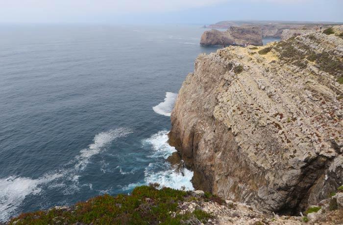 Espectaculares vistas desde el Cabo San Vicente Portugal
