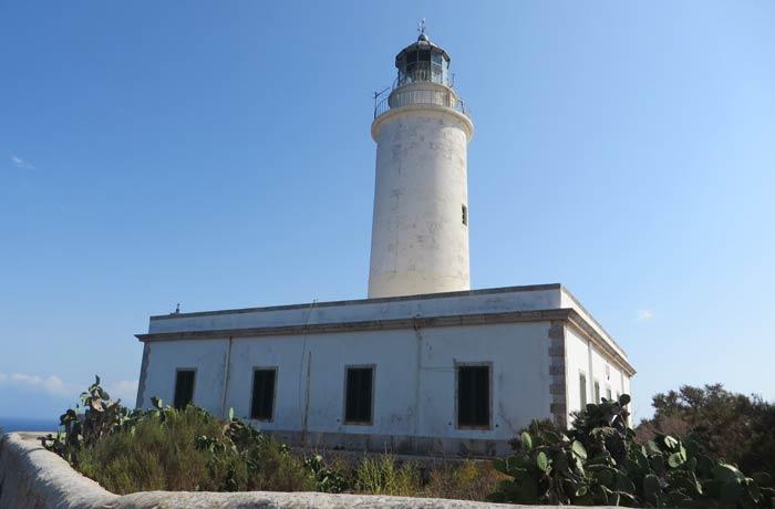 Faro de La Mola que ver en Formentera