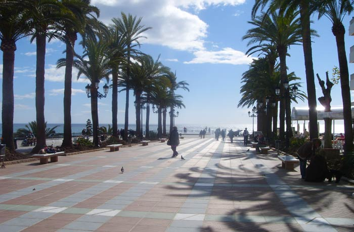 Plaza del Balcón de Europa Nerja