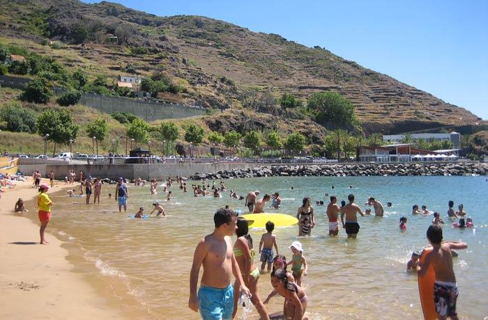 Playa de Machico Una semana en Madeira