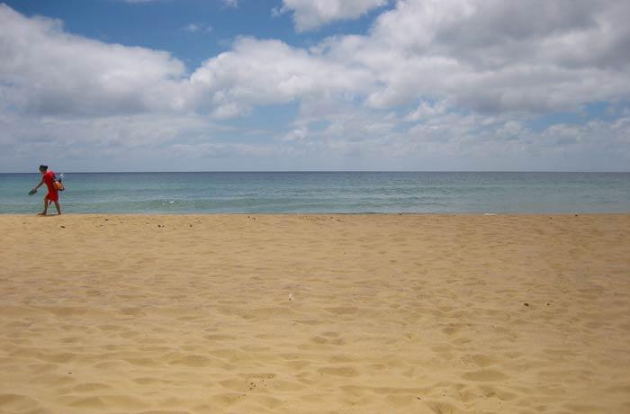Playa de Porto Santo Una semana en Madeira