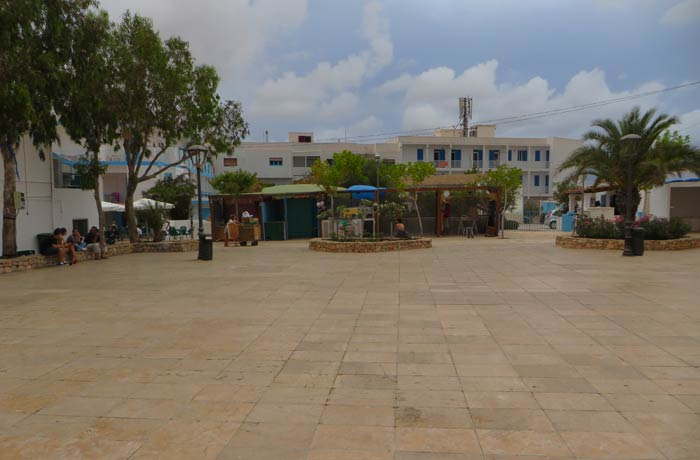 Plaza de Sant Ferrán que ver en Formentera