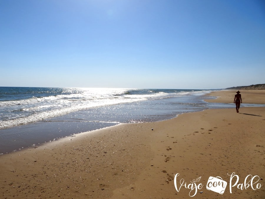 Playa de Cuesta Maneli playas de Huelva