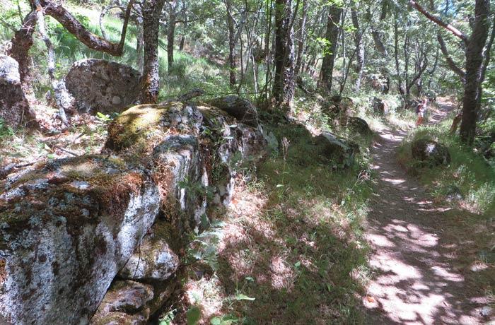 Vista del sendero antes de regresar a Sotillo de Sanabria Cascada de Sotillo