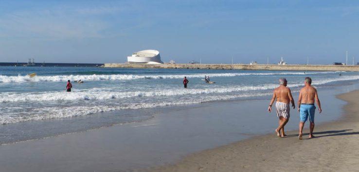 Playa de Matosinhos Oporto