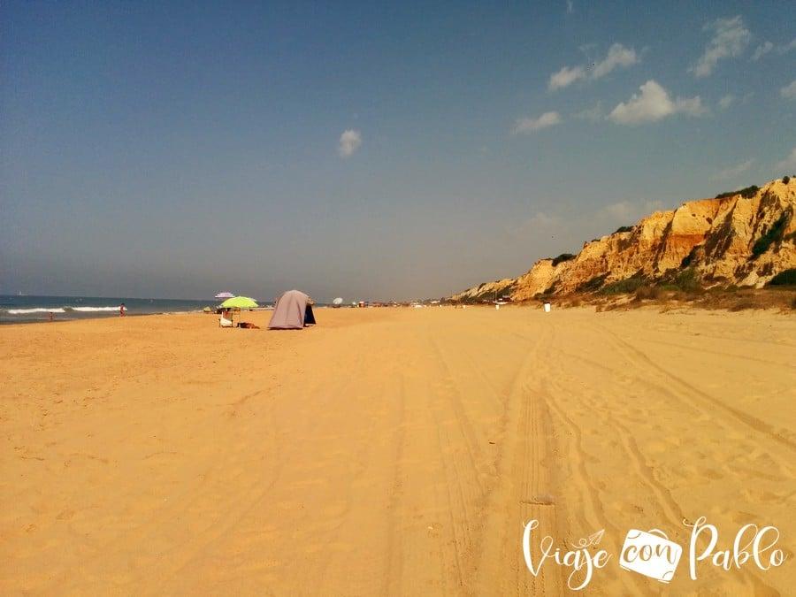 Playa del Parador playas de Huelva