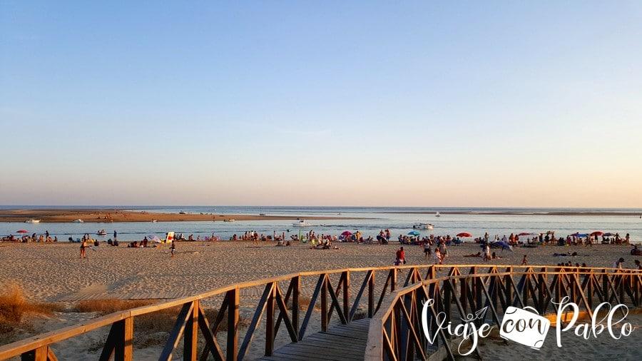 Playa de El Portil playas de Huelva