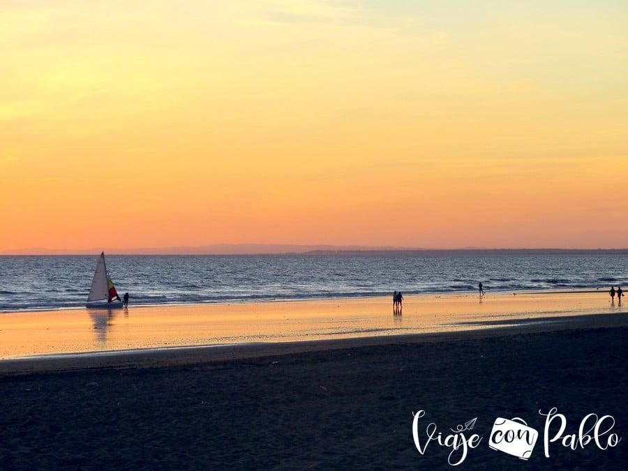 Playa de Punta Umbría playas de Huelva