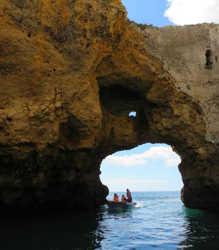 """""""Salón"""" grutas de Lagos"""