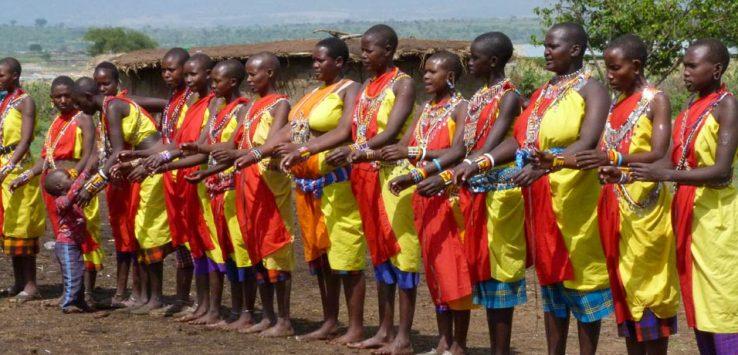 Tribu Masái Kenia