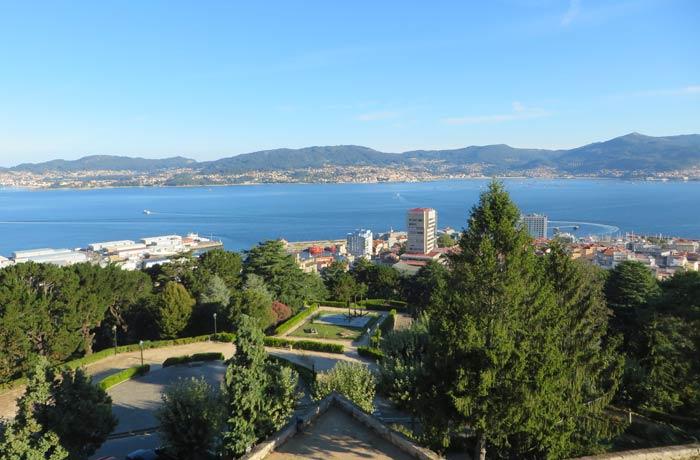 El Monte del Castro y la ría de Vigo