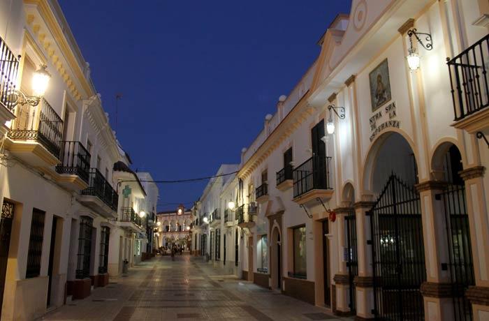 Calle Andalucía qué ver en Moguer