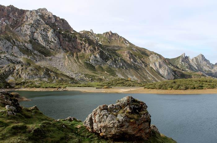Panorámica del Lago del Valle