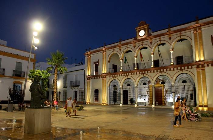 Plaza del Cabildo qué ver en Moguer