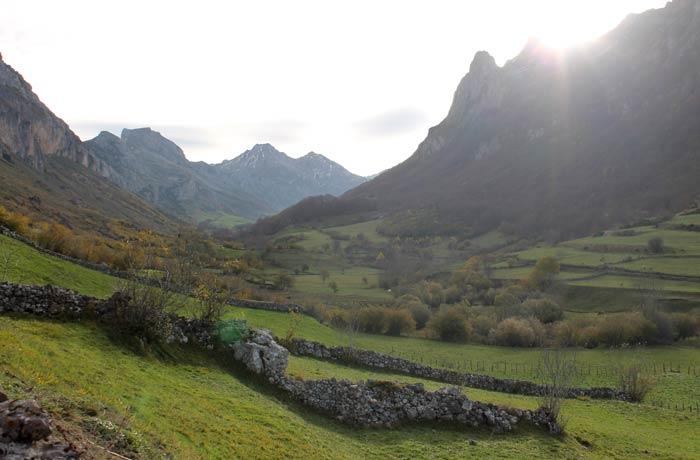 Praderas de Somiedo ruta Lago del Valle